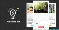 Fundraising vc box show fundraising your progress composer visual with