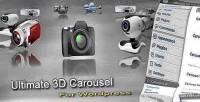3d ultimate wordpress for carousel