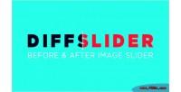 Before diffslider after image
