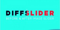 Before diffslider after image
