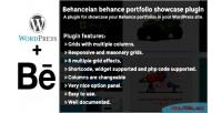 Behance behanceian plugin showcase portfolio