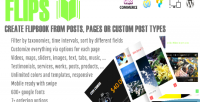 Create flipbook from post plugin wp types create