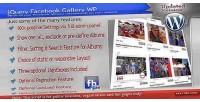 Facebook jquery gallery wp