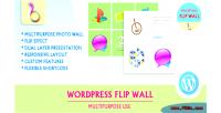 Flip wordpress use multipurpose wall