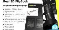 Flipbook real3d wordpress plugin