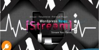 For newsstream wordpress