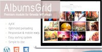 Gallery albumsgrid module plugin gmedia for