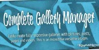 Gallery complete wordpress for manager