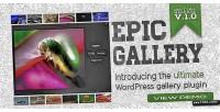Gallery epic wordpress plugin