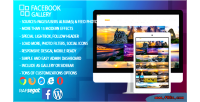 Gallery facebook wordpress plugin