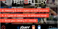 Gallery fast plugin wordpress premium