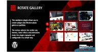 Gallery rotate slider portfolio wordpress