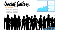 Gallery social bundle lightbox wordpress