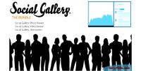 Gallery social bundle lightbox wordpress