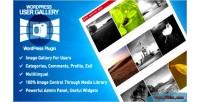 Gallery user wordpress plugin