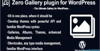 Gallery zero wordpress plugin revolution media