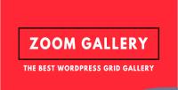 Gallery zoom grid image wordpress
