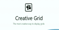 Grid creative composer visual for
