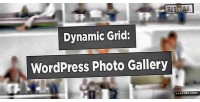 Grid dynamic photo wordpress for gallery