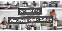 Grid dynamic photo wordpress for gallery
