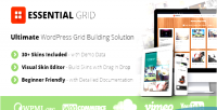 Grid essential wordpress plugin