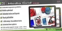 Grid media portfolio responsive wordpress