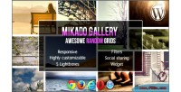 Grid mikado wordpress for gallery
