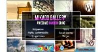 Grid mikado wordpress for gallery