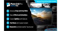 Grid pro wordpress interactive builder gallery grid grid