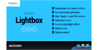 Lightbox nacho for wordpress