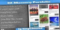 Masonry ez portfolio