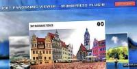 Panoramic 360 plugin wordpress viewer