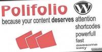 Plugin polifolio for wordpress