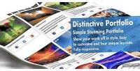 Distinctive portfolio 4 in portfolio wordpress 1