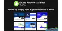 Portfolio envato & wordpress for affiliate