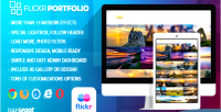Portfolio flickr wordpress plugin