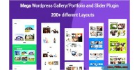 Portfolio mega filterable gallery portfolio plugin wordpress responsive