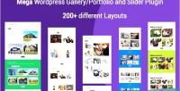 Portfolio mega filterable gallery portfolio plugin wordpress responsive