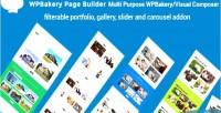 Portfolio mp wpbakery visual composer portfolio filterable gallery ca & slider