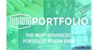 Portfolio union a plugin wordpress premium