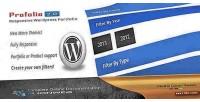 Premium portfolio wp plugin