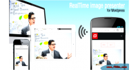 Real time image presenter wordpress for tool