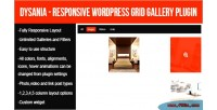 Responsive dysania wordpress plugin gallery grid