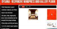 Responsive dysania wordpress plugin gallery grid