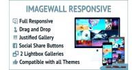 Responsive imagewall photo wordpress for wall