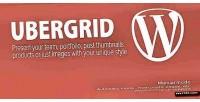 Responsive ubergrid grid wordpress for builder