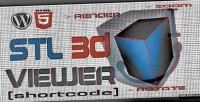 Stl wordpress shortcode viewer 3d
