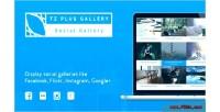 Tz plus gallery wordpress plugin gallery social