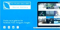 Tz plus gallery wordpress plugin gallery social