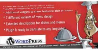 Ultimate wordpress maker menu restaurant